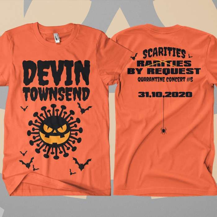 Devin Townsend - 'Halloween - Rarities By Request Show' T-Shirt - Devin Townsend