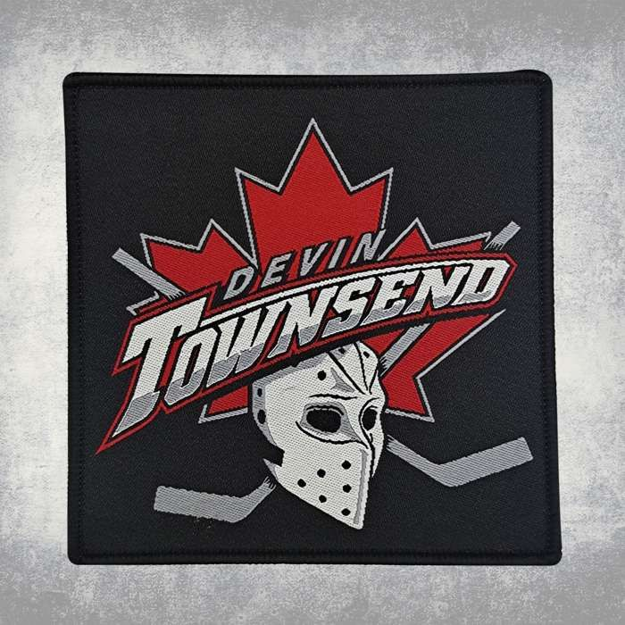 Devin Townsend - 'Hockey' Woven Patch - Devin Townsend