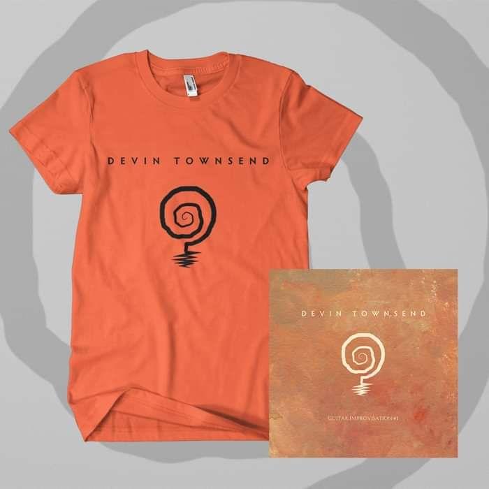 Devin Townsend - 'Improvisation #1' Download and T-Shirt Bundle - Devin Townsend