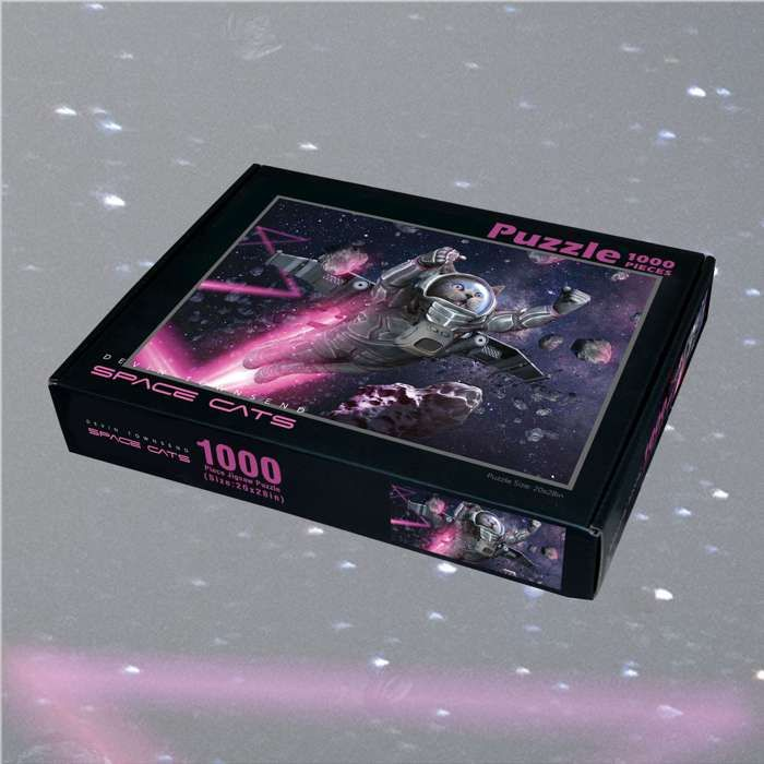 Devin Townsend - 'Space Cats' 1000 Piece Jigsaw - Devin Townsend