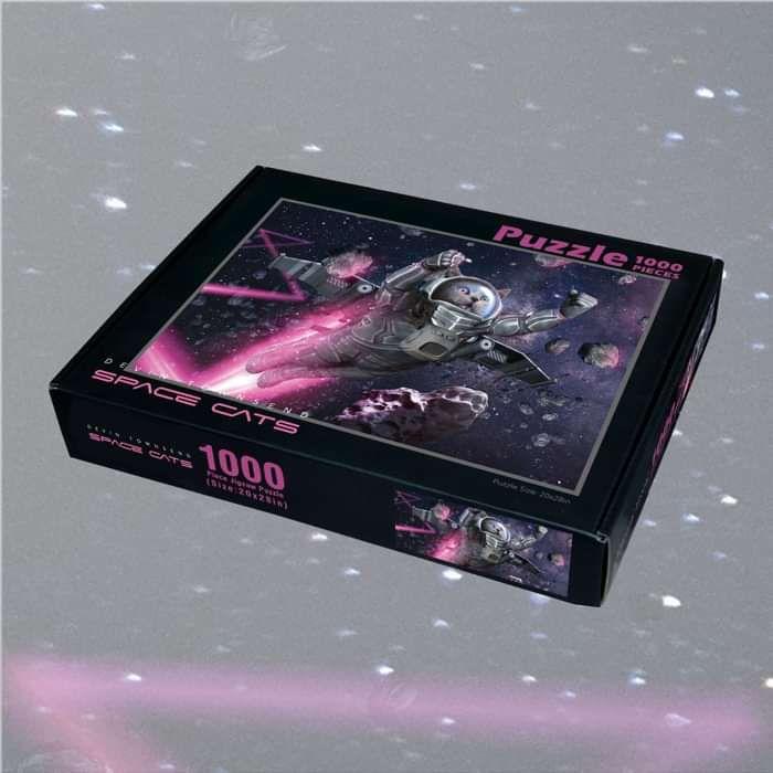 Devin Townsend - 'Space Cats' 1000 Piece Jigsaw - Devin Townsend