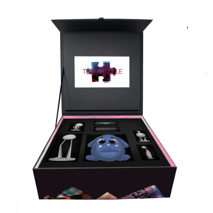 Devin Townsend - 'The Puzzle' Limited Edition Box Set + 'Sin' T-Shirt Bundle - Devin Townsend