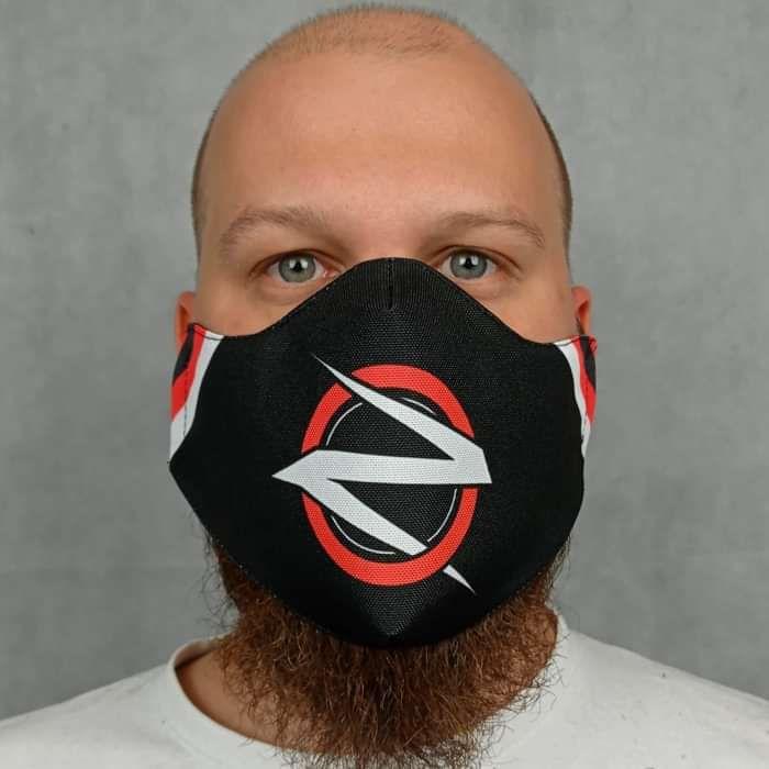 Devin Townsend - 'Ziltoid' Face Mask - Devin Townsend