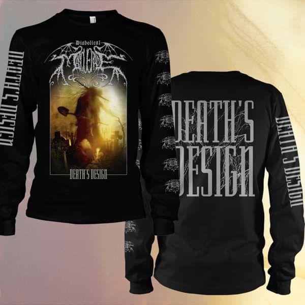 Diabolical Masquerade - 'Death's Design' Longsleeve T-Shirt - Diabolical Masquerade