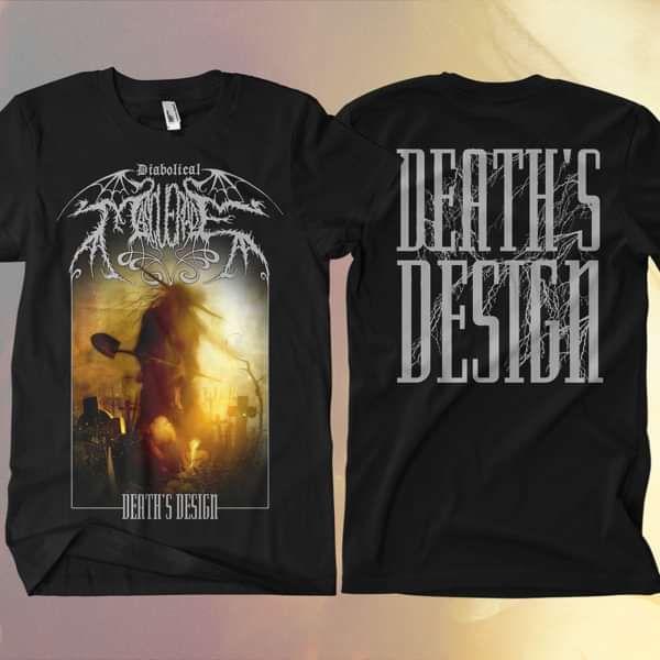 Diabolical Masquerade - 'Death's Design' T-Shirt - Diabolical Masquerade