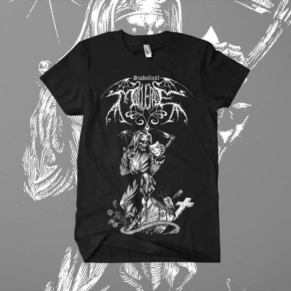 Diabolical Masquerade - 'Demo' T-Shirt - Diabolical Masquerade