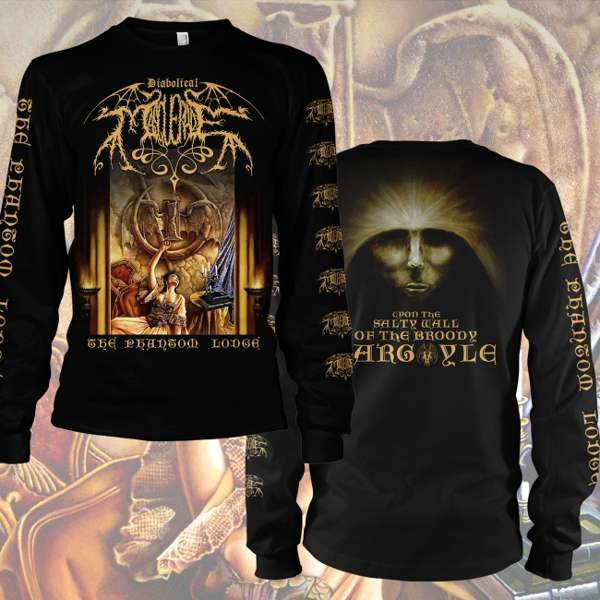 Diabolical Masquerade - 'The Phantom Lodge' Longsleeve T-Shirt - Diabolical Masquerade