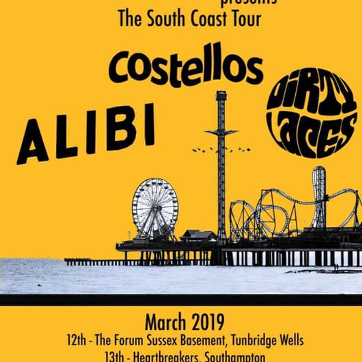 The South Coast Tour at Blackmarket, Hastings on 16 Mar 2019