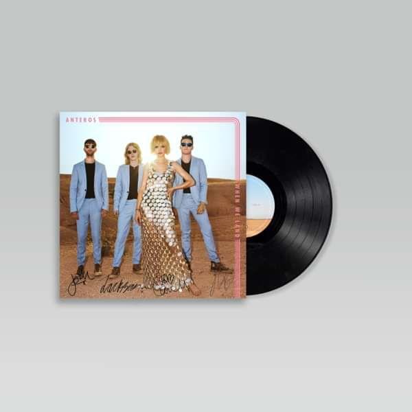 Anteros - When We Land - signed vinyl - Distiller Music