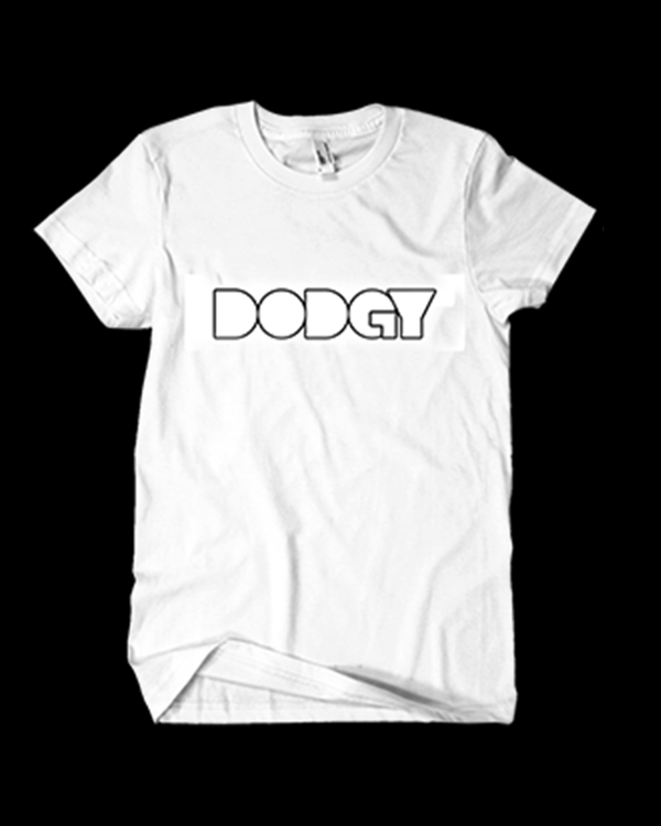Dodgy Logo t-shirt in white - Dodgy