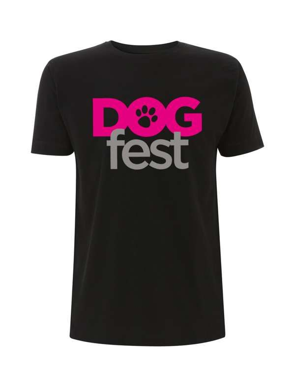 Dogfest Logo Black Tee - Dogfest