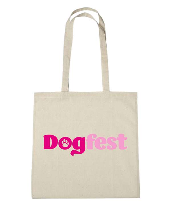 Dogfest Logo Natural Bag - Dogfest