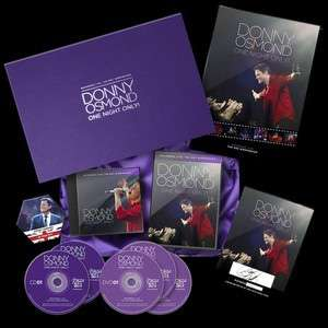 One Night Only - Box Set *Signed & Numbered* - Donny - US