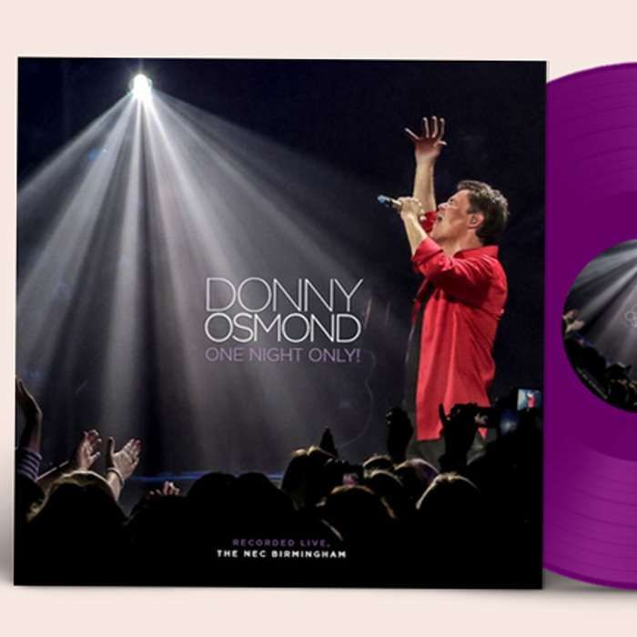 One Night Only! Strictly Limited Double Purple Vinyl - Donny - US