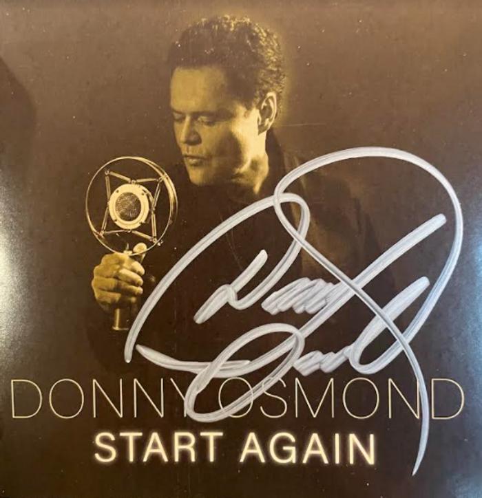 *Signed* Donny's Brand New Album - START AGAIN - Donny - US