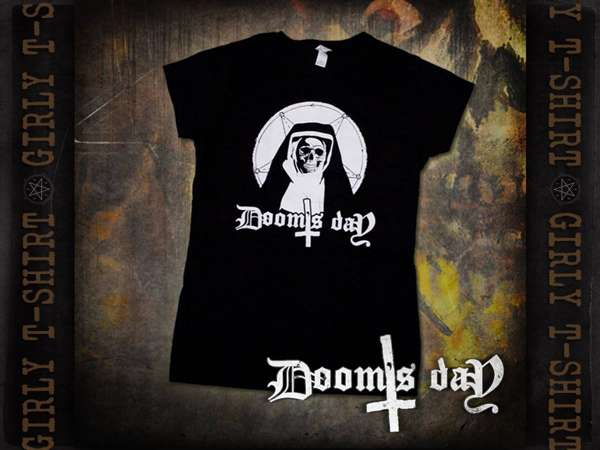 Girly T-Shirt Nundead - Doom's Day