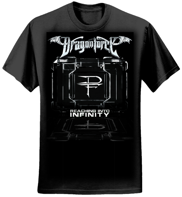 B&W Portal - Girls Tee - Dragonforce