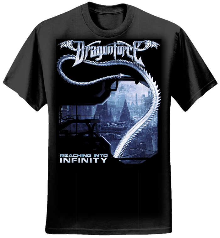 City Tail - Mens Tee - Dragonforce