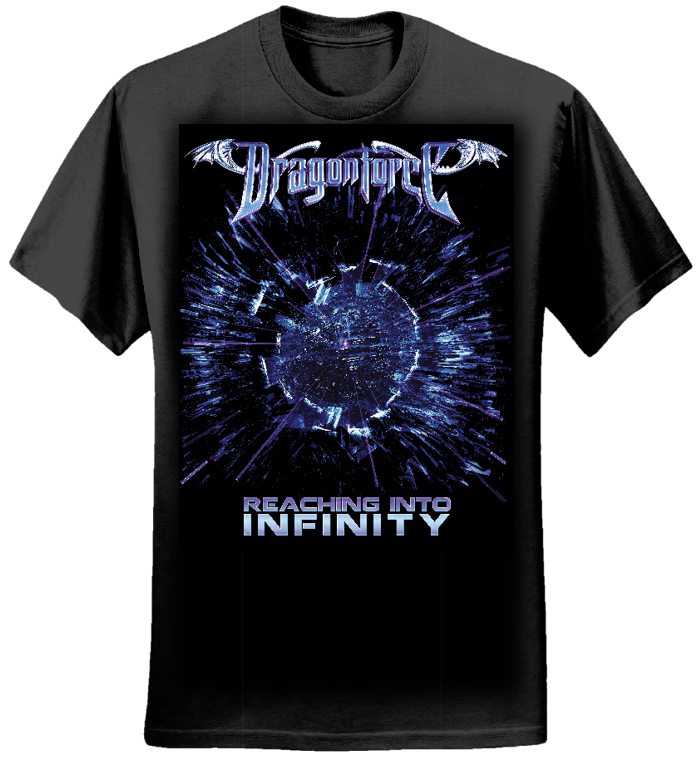 Dragonforce Explosion - Girls Tee - Dragonforce