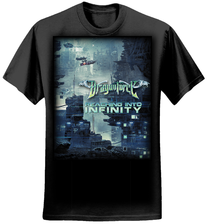 Future City - Girls Tee - Dragonforce