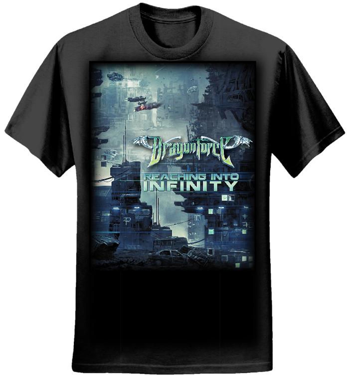 Future City - Mens Tee - Dragonforce