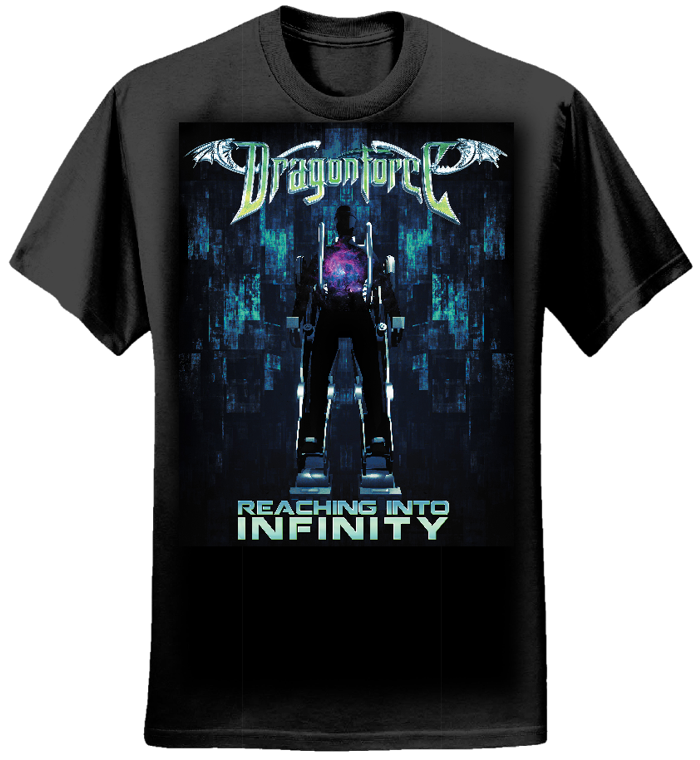 Infinity Chair - Mens Tee - Dragonforce