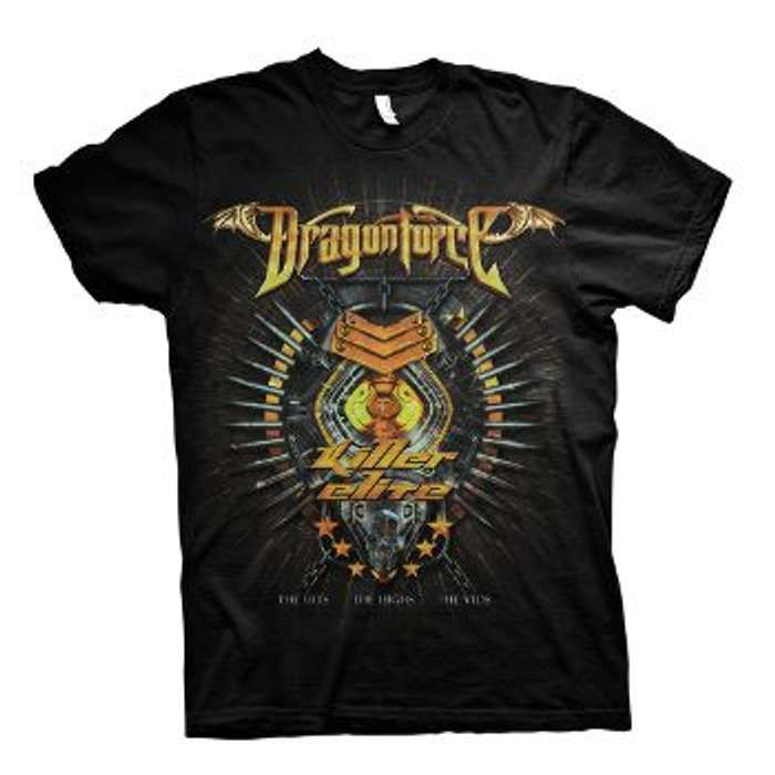 Killer Elite Album - Girls Tee - Dragonforce
