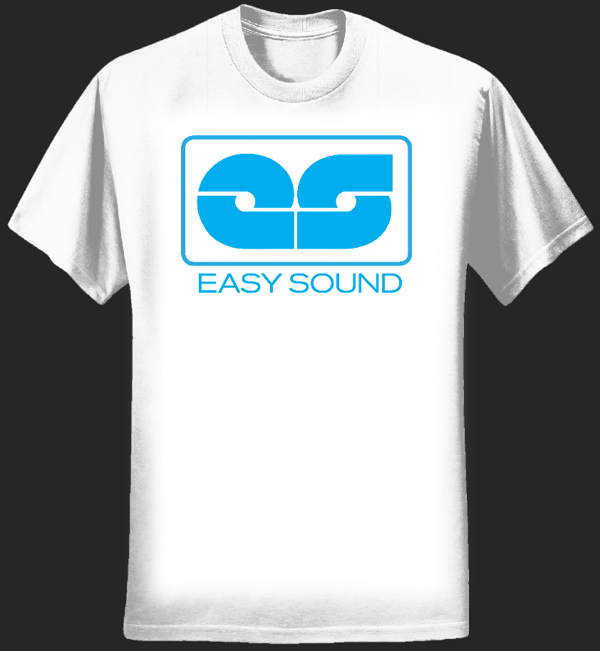 Easy Sound Shirt - White - Easy Sound Recording Company