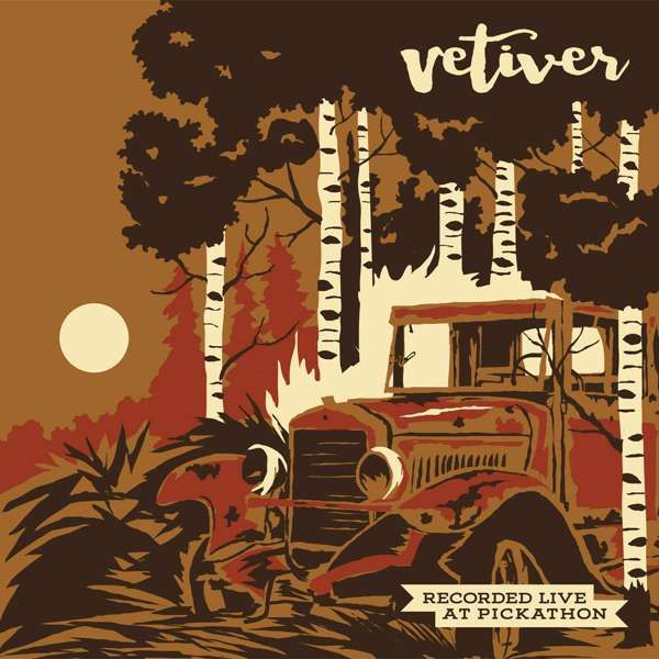 """Live at Pickathon: Vetiver / Wolf People 12"""" LP - Easy Sound Recording Company"""