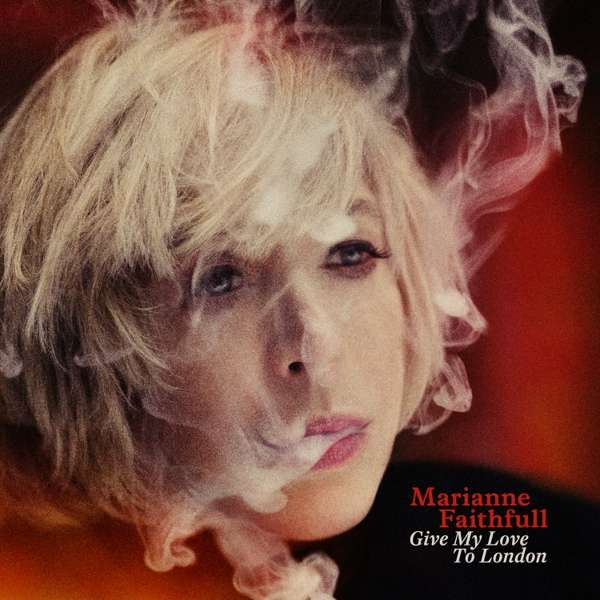 "Marianne Faithfull - Give My Love To London 12"" LP (w/ CD in package) - Easy Sound Recording Company"