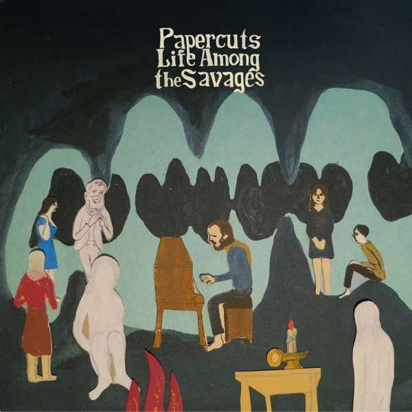 "Papercuts - Life Among the Savages 12"" LP - Easy Sound Recording Company"