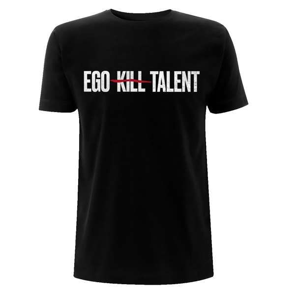 Distressed Logo - Unisex Tee - Ego Kill Talent [USA]