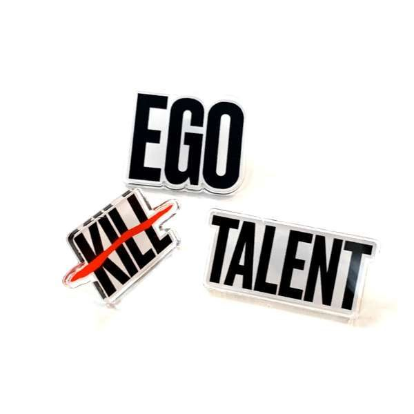 Logo - Acrylic Badge Set - Ego Kill Talent [USA]
