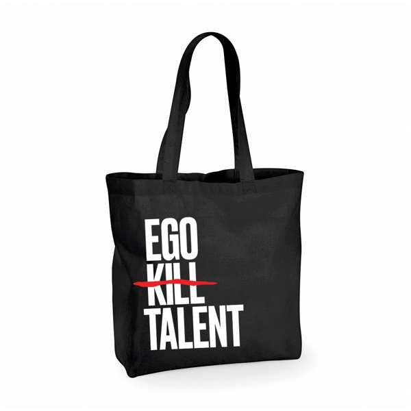 Vertical Logo - Shopper Bag - Ego Kill Talent [USA]