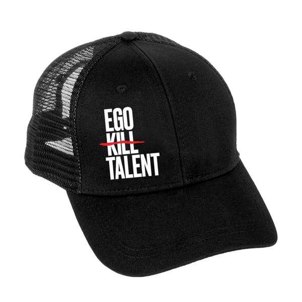 Vertical Logo - Trucker Cap - Ego Kill Talent [USA]