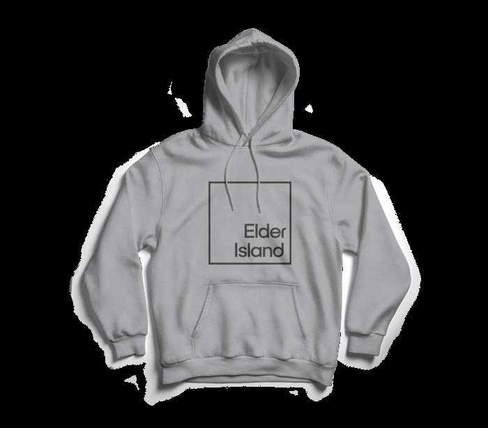 Logo Hoodie Grey - Elder Island
