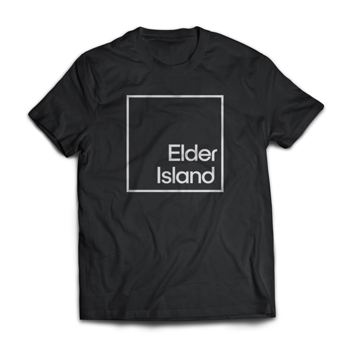 Logo T-Shirt Black - Elder Island