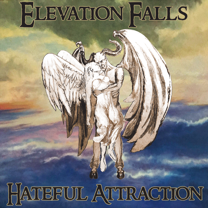 'Hateful Attraction' Single Hard Copy CD - Elevation Falls