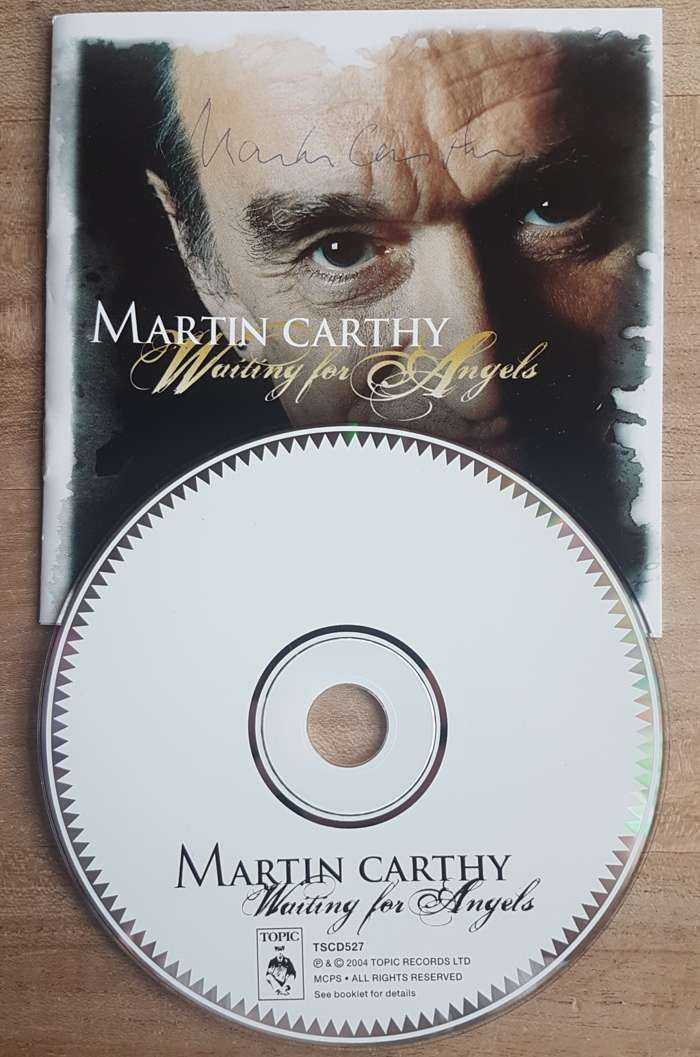 SIGNED Martin Carthy - Waiting for Angels - Eliza Carthy