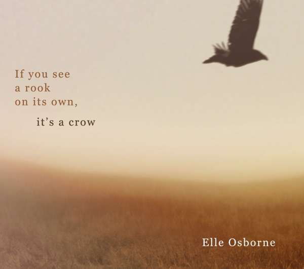 If You See a Rook on its Own, it's a Crow - cd - elle osborne