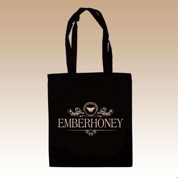 Screen Printed Cotton Totebag - EMBERHONEY