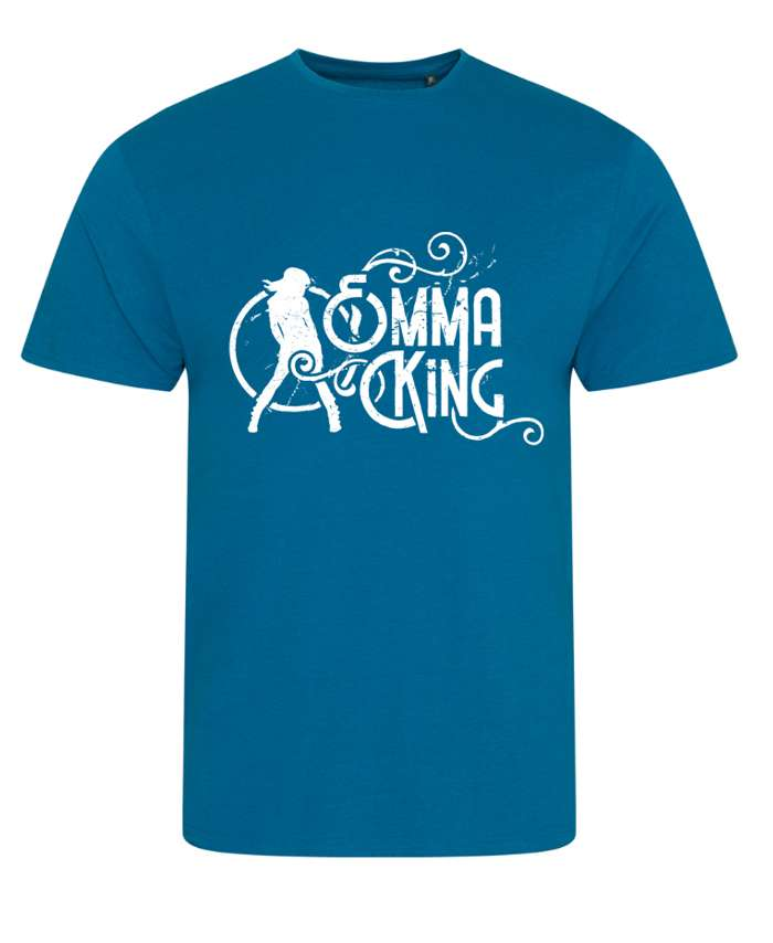Men's Slim Fit Summer Tee (Blue) - Emma King