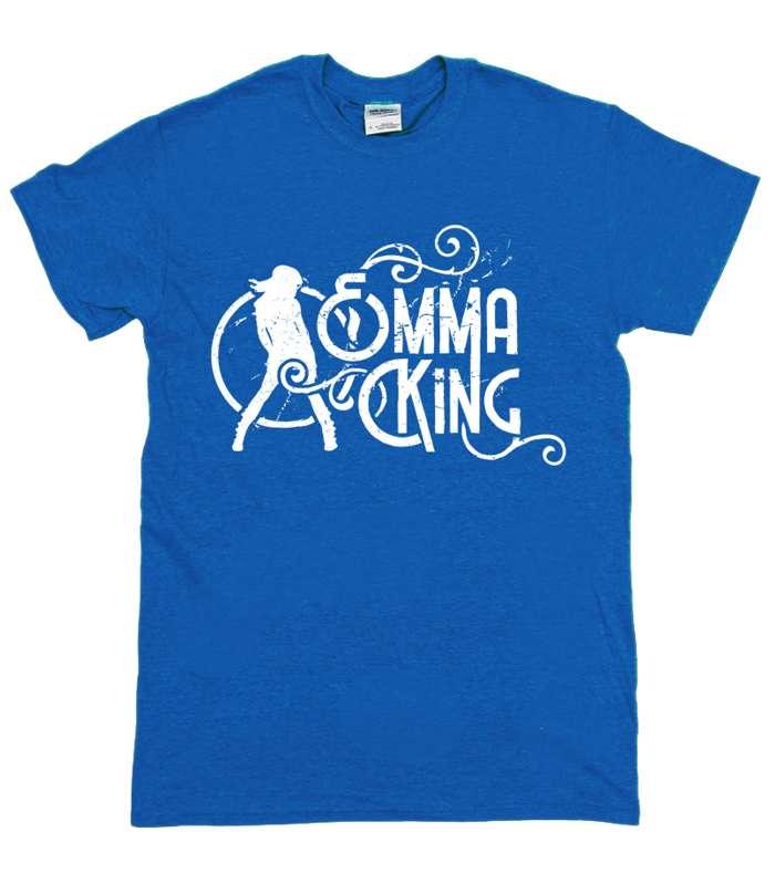 Regular Fit Summer Tee (Blue) - Emma King
