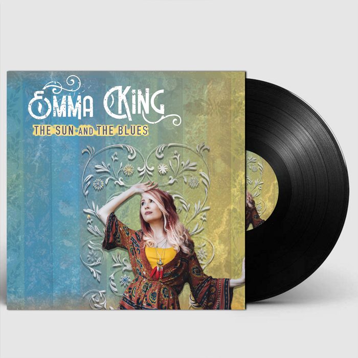 "The Sun and The Blues (Limited Edition 10"" Vinyl & Online Bonus) - Emma King"