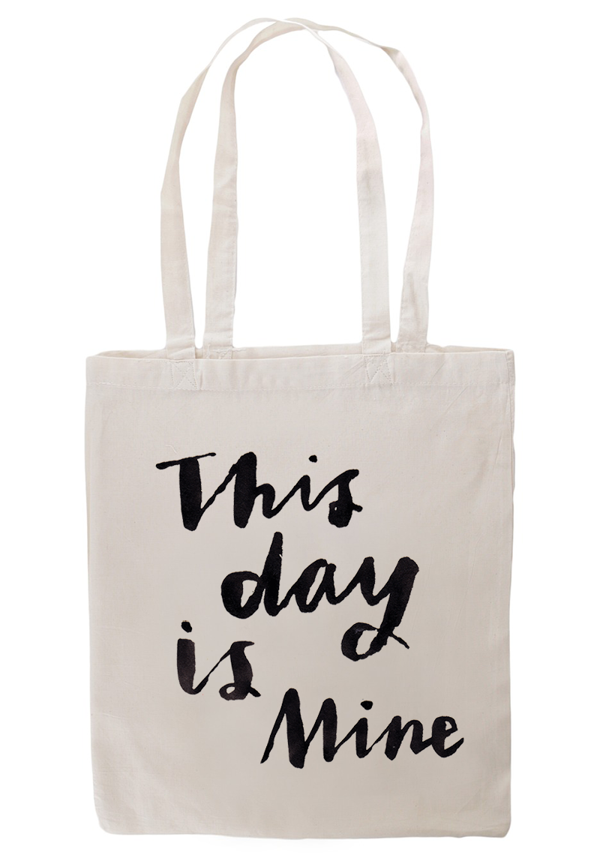 """This Day Is Mine"" tote bag - Emma's Imagination"