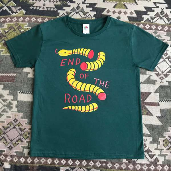 2019 Kids Snake T-Shirt Green - End of the Road Festival