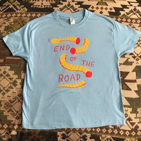 2019 Kids Snake T-Shirt - Light Blue - End of the Road Festival