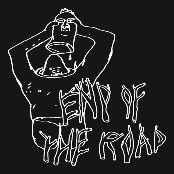 """2021 """"Ape"""" Long Sleeve T-Shirt - Navy - End of the Road Festival"""