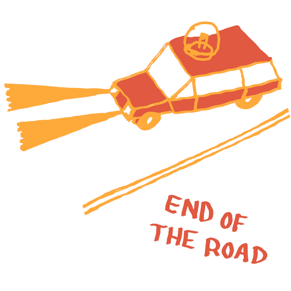 """2021 """"Car"""" Babygrow - White - End of the Road Festival"""