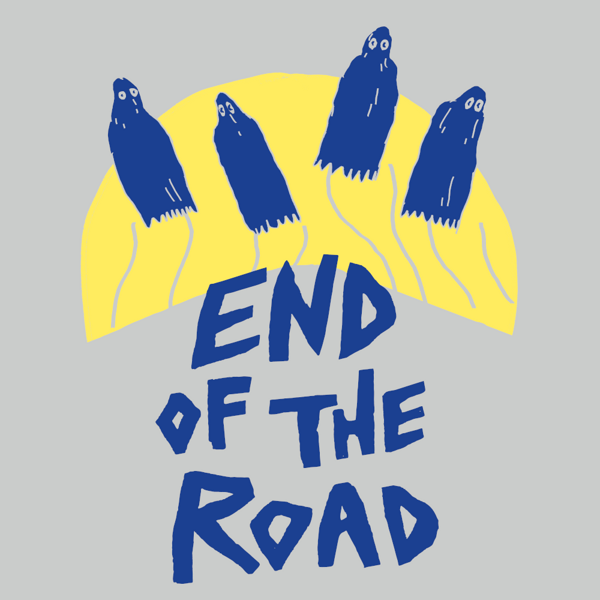 """2021 """"Ghosts"""" T-Shirt - Grey - End of the Road Festival"""